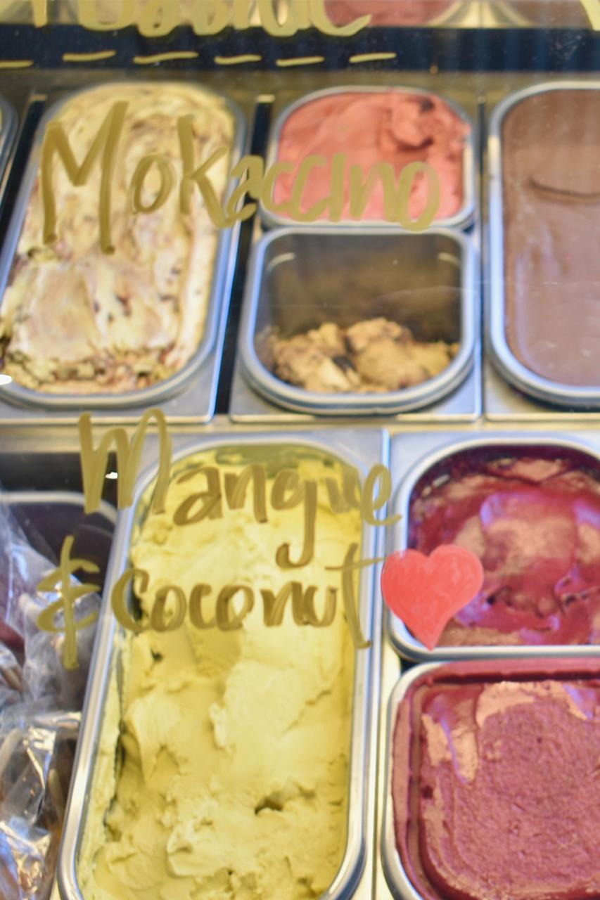 resto vego dessert section
